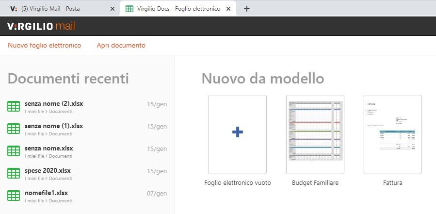 Virgilio_Docs_modelli